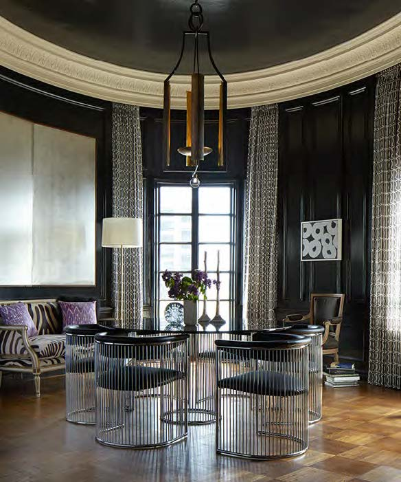 Eric Cohler Dining Room Style