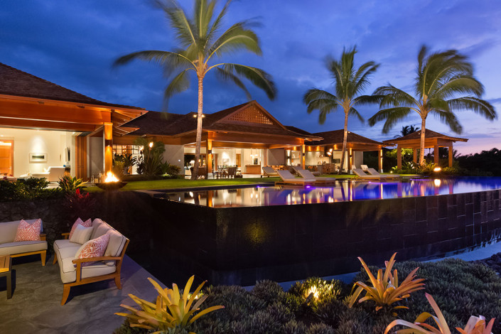 Night View Hainoa Place Outdoor Style