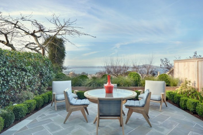 Outdoor spaces by Eric Cohler Design