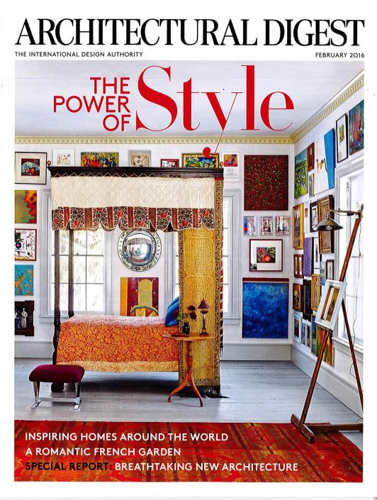 Architectural Digest February 2016