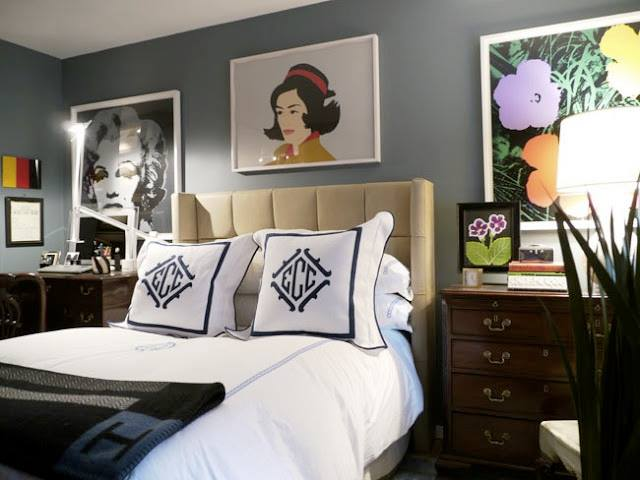 Eric Cohler Designed Bedroom Interior