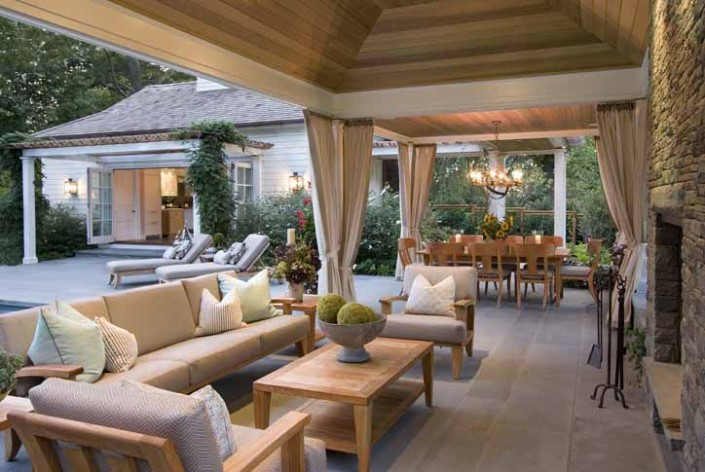 Luxury Outdoor Spaces Eric Cohler Design