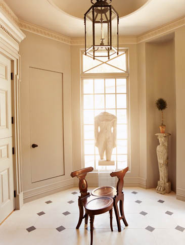 New York Entryway Design Eric Cohler