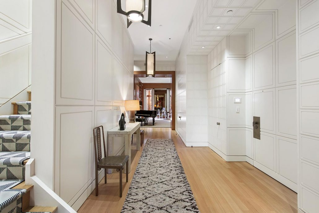 Foyer Mudroom Ny : Entryway study eric cohler design new york palm