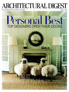 Architectural Digest, April 2016