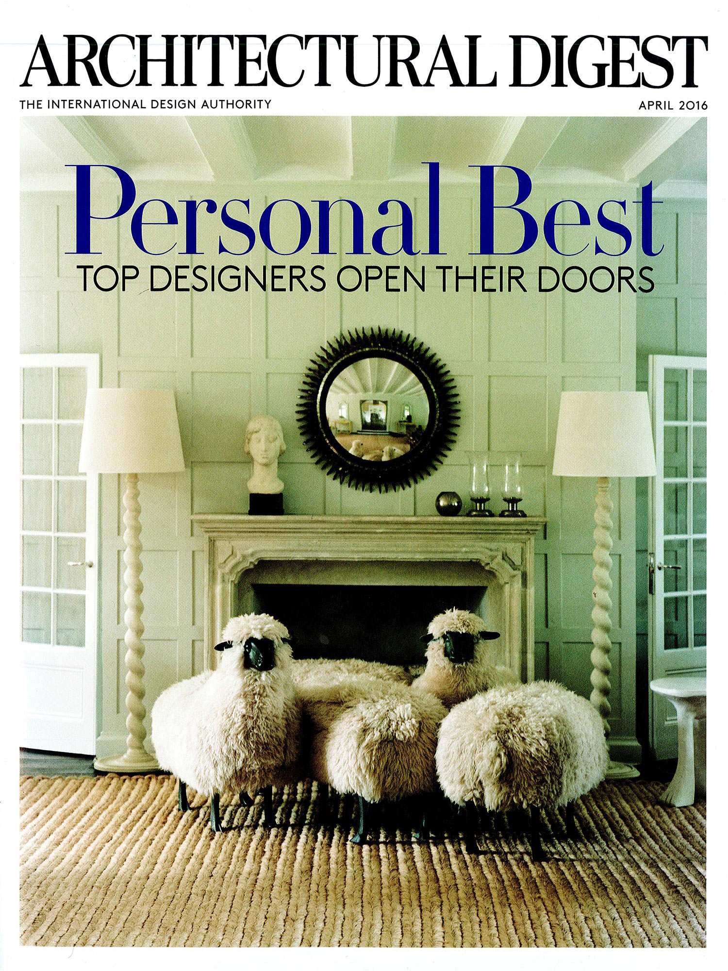Architectural Digest April 2016 Eric Cohler Design