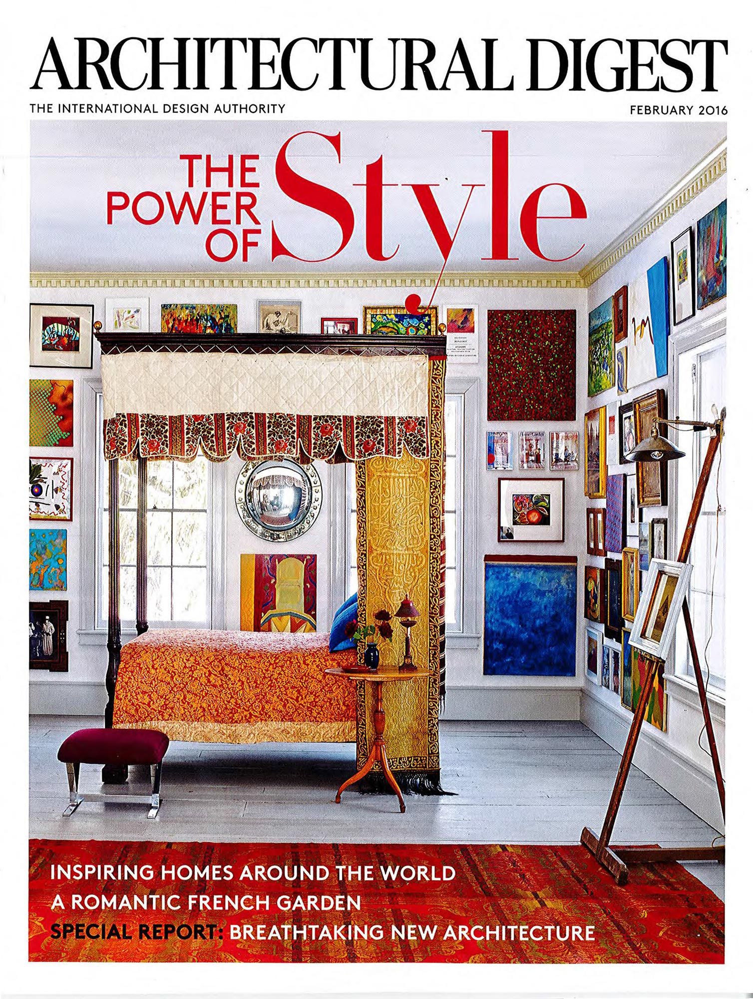 Architectural Digest February 2016 Eric Cohler Design