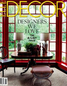 Elle Decor - The A-List - June 2016