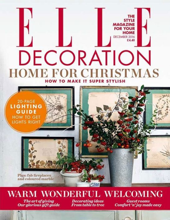 Elle Decoration - December 2016